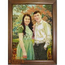 Портрет №9 30х40 см. от 1100 грн