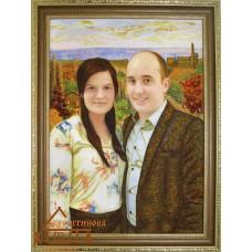 Портрет №8 34х47 см. Ціну див. у вкладці Прайс!