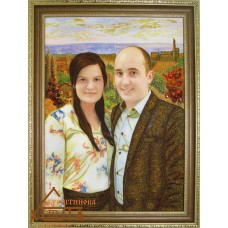 Портрет №8 34х47 см. от 1550 грн