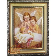 """Ангелы девушки """"АД-57""""  15х20 см."""