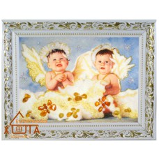 "Ангелы мальчики ""АХ-1"" 15х20 см."