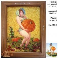 Мультяшні жінки (МЖ-8) 15х20 см.