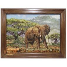 """Тварини Сафарі """"Слон """"(ТСФ-34) 34х47 см. Ціну див. у вкладці Прайс!"""