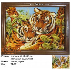 "Тигры ""ТТ-37"" 20х30 см."