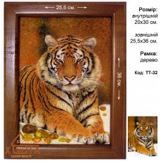 "Тигры ""ТТ-32"" 20х30 см."