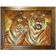 "Тигры ""ТТ-39"" 40х60см."