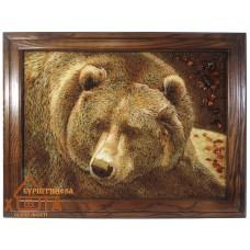 "Медведь ""ТВМ-1"" 40х60 см."