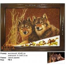 """Волки """"ТВ-3""""  40х60 см."""