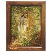 """Икона (ІС-14)""""Иисус стучит в дверь"""" 15х20 см"""