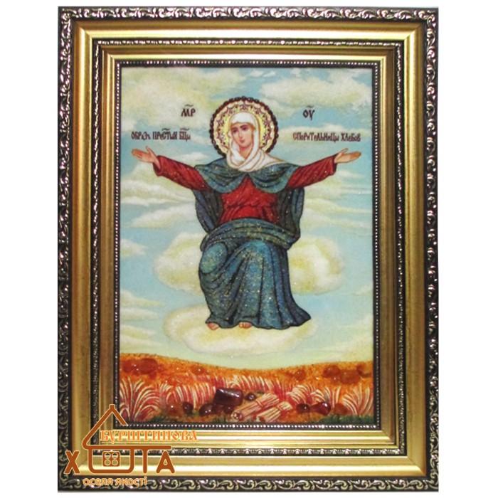 """Ікона Божа мати """" Спорительница хлібів"""" (ІБ-56) 20х30 см. Ціну див. у вкладці Прайс!"""