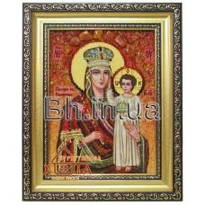 """Ікона Божої Матері """"Призри на смирення"""" (ІБ-25) 15х20 см."""