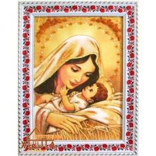 Ікона Божа мати (ІКБ-5) 20х30 см. Ціну див. у вкладці Прайс!