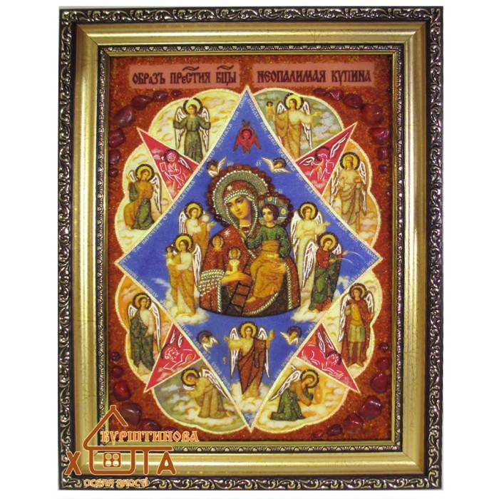 """Ікона Божа мати """" Неопалима Купина"""" (ІБ-55) 20х30 см. Ціну див. у вкладці Прайс!"""