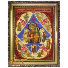 """Икона Божья матерь """"Неопалимая Купина"""" (ІБ-55) 20х30 см."""