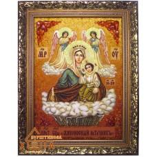 """Икона Божья матерь """"Живоносный источник"""" (ІБ-65) 20х30 см."""