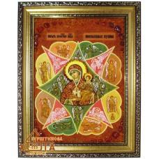 """Ікона Божа мати """" Неопалима Купина"""" (ІБ-85) 20х30 см."""
