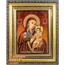 """Икона Божья матерь (ІБ-16) """"Неувядаемый Цвет"""" 15х20 см. Цену смотреть во вкладке Прайс!"""