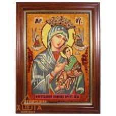 """Ікона Божа матір """"Неустанна поміч"""" (ІБ-51) 30х40 см."""