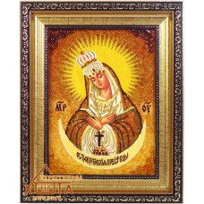 """Икона Божья матерь (ІБ-44) """"Остробрамская"""" 15х20 см. Цену смотреть во вкладке Прайс!"""