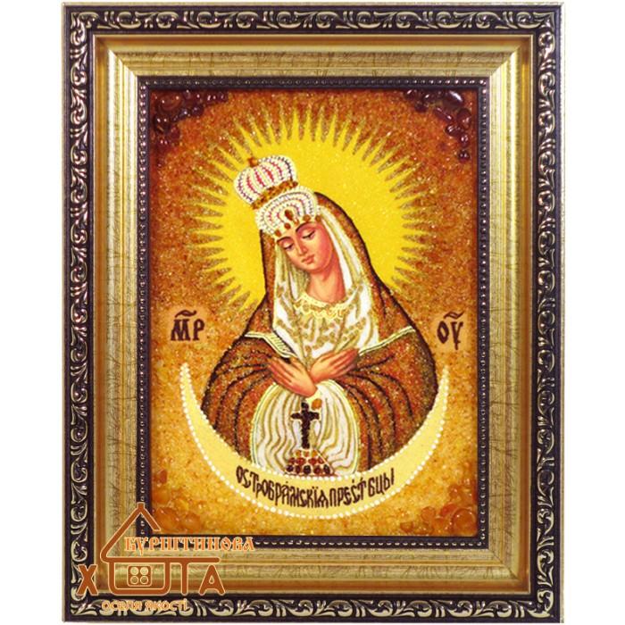 """Ікона Божа мати (ІБ-44) """"Остробрамська"""" 15х20 см. Ціну див. у вкладці Прайс!"""