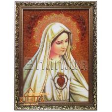 Ікона Католицька Божа мати (ІКБ-32) 30х40 см. Ціну див. у вкладці Прайс!