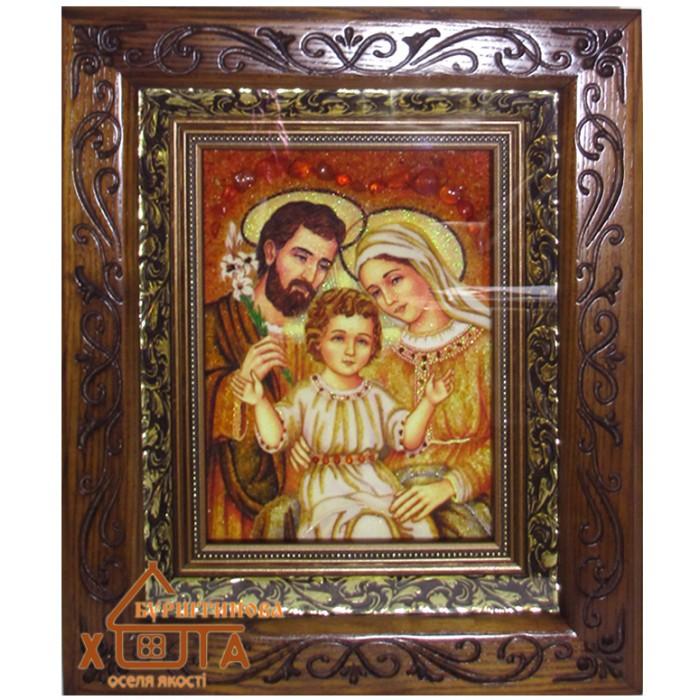 """Ікона Свята родина """"ІСР-21"""" 15х20 см.  Ціну див. у вкладці Прайс!"""