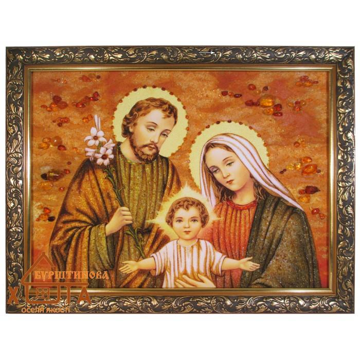 """Ікона """"Свята родина"""" (ІСР-36) 40х60 см. Ціну див. у вкладці Прайс!"""