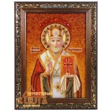 Икона мужская именная (ІЧ-57) «Святой Николай» 20х30 см. Цену смотреть во вкладке Прайс!