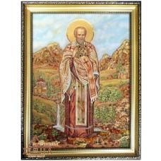 """Ікона """"Святий Миколай чудотворець""""  (ІЧ-72) 40х60 см."""