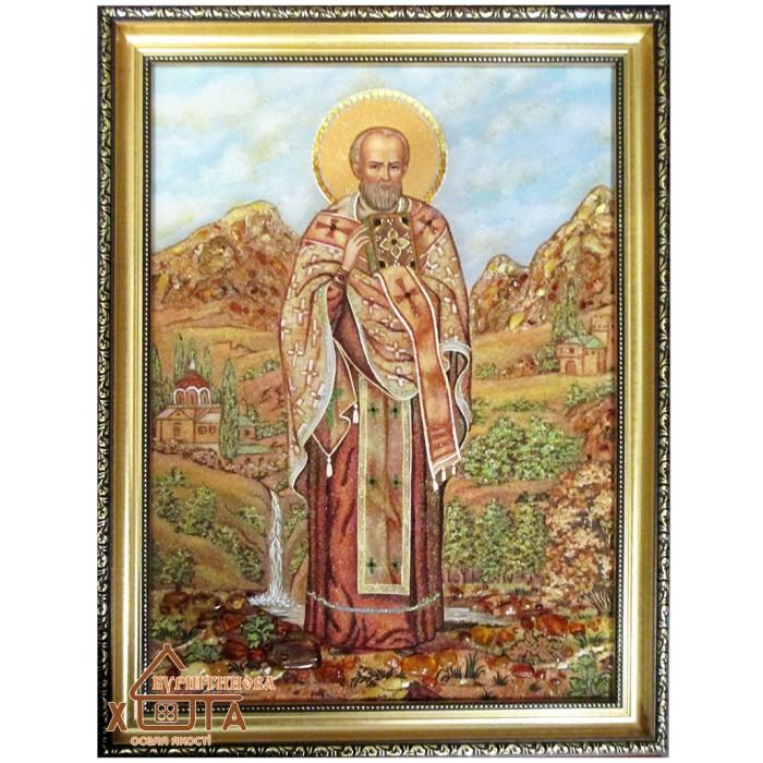 """Ікона (ІЧ-72) """"Святий Миколай чудотворець""""  40х60 см.  Ціну див. у вкладці Прайс!"""