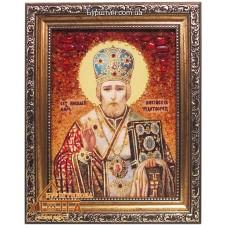 Икона мужская именная (ІЧ-6) «Святой Николай» 15х20 см