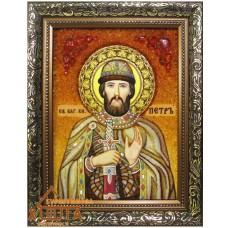 Икона мужская именная (ІЧ-101) «Святой Петр» 15х20 см. Цену смотреть во вкладке Прайс!