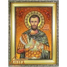 Икона мужская именная (ІЧ-154) «Святой Евгений» 20х30 см