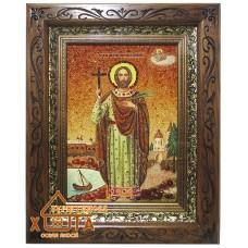 Икона мужская именная (ІЧ-209) «Святой Иоанн Сочавский» 20х30 см