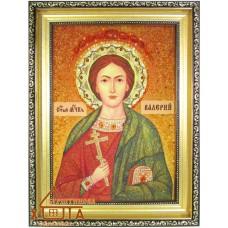 Ікона чоловіча іменна (ІЧ-96) «Святий Валерій» 20х30 см. Ціну див. у вкладці Прайс!