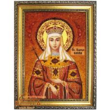 """Ікона жічноча імення (ІЖ-130) """"Свята цариця Олена"""" 20х30 см. Ціну див. у вкладці Прайс!"""