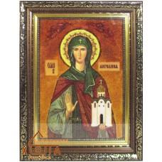 "Икона женская именная (ІЖ-13)""Святая Ангелина"" 20х30 см."