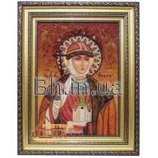 """Ікона жічноча імення (ІЖ-17) """"Свята княгиня Ольга"""" 20х30 см. Ціну див. у вкладці Прайс!"""