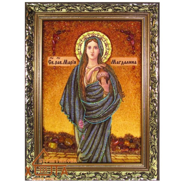 """Ікона жіноча іменна (ІЖ-66) """"Свята Марія Магдалина"""" 20х30 см. Ціну див. у вкладці Прайс!"""