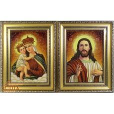 """Иконы пары """"Иерусалимская"""" (ІП-5, ІП-6) 20х30 см."""