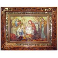 """Икона (ІР-43) """"Рождество Пресвятой Богородицы"""" 20х30 см."""