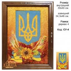 "Символика Украины ""СУ-4"" 30х40 см."