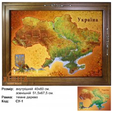 "Символика Украины ""СУ-1"" 40х60 см."