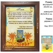 "Символика Украины ""СУ-5"" 20х30 см."