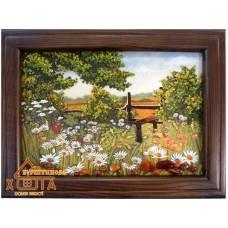 """Пейзаж з квітами """"ПК-21"""" 20х30 см. Ціну див. у вкладці Прайс!"""