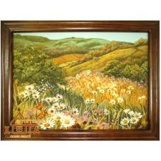 """Пейзаж з квітами """"ПК-5"""" 20х30 см. Ціну див. у вкладці Прайс!"""