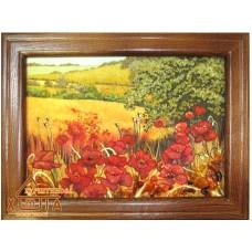 """Пейзаж с цветами """"ПК-6"""" 15х20 см."""