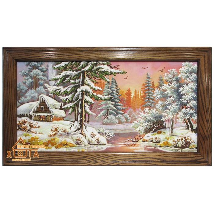 Пейзаж зимовий (ПЗ-35) 35х70 см.