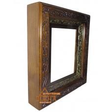 Рамка стекло киот-резьба 15х20 см