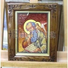 """Ікона """"СВЯТИЙ АПОСТОЛ ІОАНН ( ІВАН ) БОГОСЛОВ""""  (ІЧ-123)  15х20 см."""